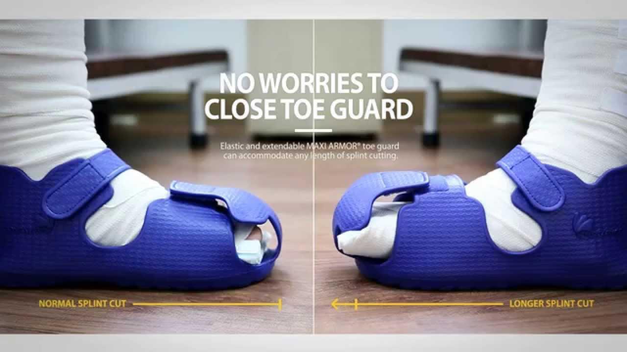 Closed toe medical walking shoe foot protection boot - Closed Toe Medical Walking Shoe Foot Protection Boot 12