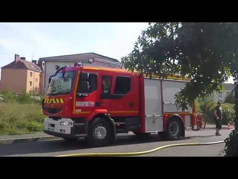 Dégagement de fumée a volgelsheim