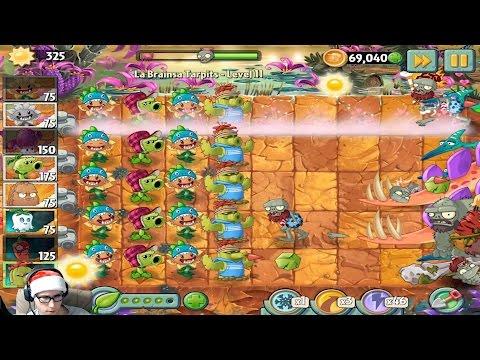 Новогоднее прохождение Plants vs. Zombies 2 - В ОЖИДАНИИ Plants vs Zombies 3
