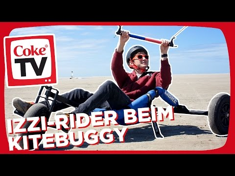 Born to be wild! Kitebuggy mit izzi | #CokeTVMoment