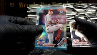 2019 Bowman JUMBO Baseball 8-Box Case Break #8
