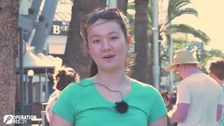 A conversation from Schoolies 2017 (Gold Coast)