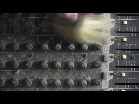 How to clean a dirty mixing console