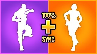 I Mixed My Fortnite Dances Together And They looked *BETTER*