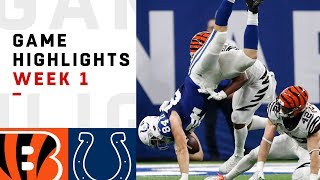 Bengals vs. Colts Week 1 Highlights | NFL 2018