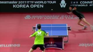 韓国オープン2017男子シングルス準決勝 吉村真晴vsボル 第4ゲーム