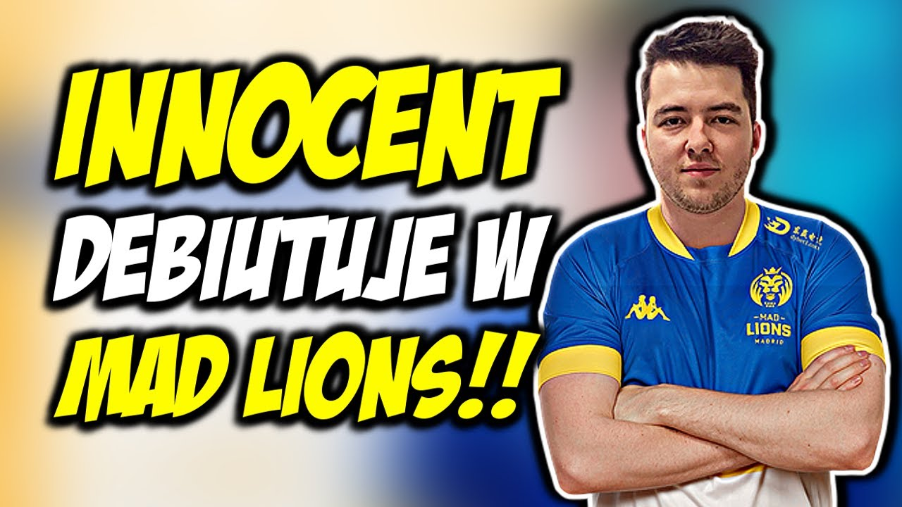 INNOCENT DEBIUTUJE W MAD LIONS!!! MAD LIONS VS HEROIC - CSGO BEST MOMENTS