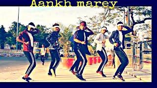 SIMMBA - AANKH MAREY DANCE VIDEO / CHOREOGRAPHY  SURESH