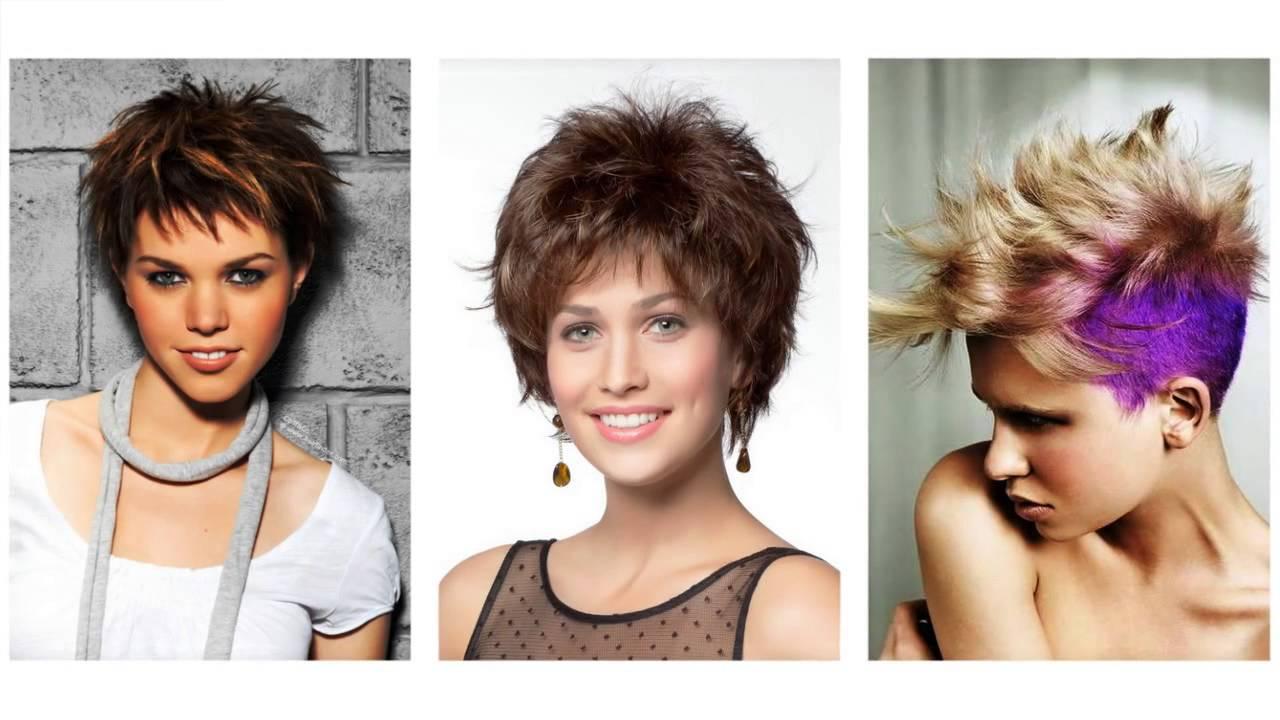 Potargane Krótkie Fryzury Dla Kobiet