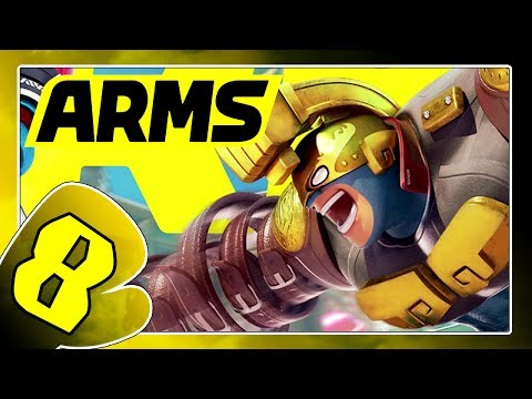 ARMS Part 8: Max Brass, der Kraftmeier (DLC Charakter)