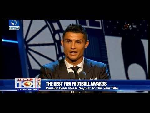 Cristiano Ronaldo Wins FIFA World Player Of The Year Pt.4 |News@10| 23/10/17