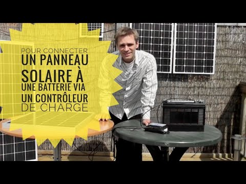 comment produire et stocker de l 39 electricit sur batterie 12v energie gratuite systeme simple. Black Bedroom Furniture Sets. Home Design Ideas