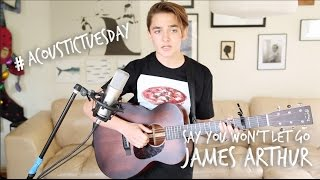 Say You Won't Let Go - James Arthur (Acoustic Cover by Ian Grey)
