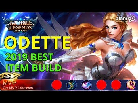 [ML] ODETTE BEST ITEM BUILD 2019 | MVP BUILD | BOUNCE KILLER | Gameplay using VIVO V9 Phone Mp3