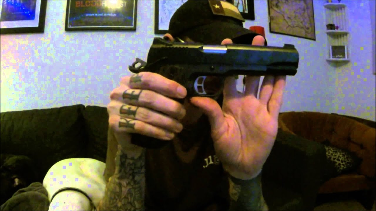 Kimber Custom II Tactical HD 1911 Review