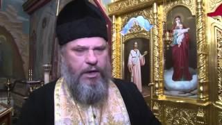 Хрустовая Старец отец Валерий  И иероманах отец Михаил