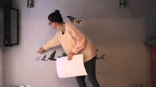 Gambar cover Cómo crear un sencillo cabecero con pegatinas - IKEA