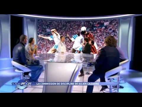 100% Foot - M6 - La commission de discipline - Julien Cazarre - Antoine Kombouare.
