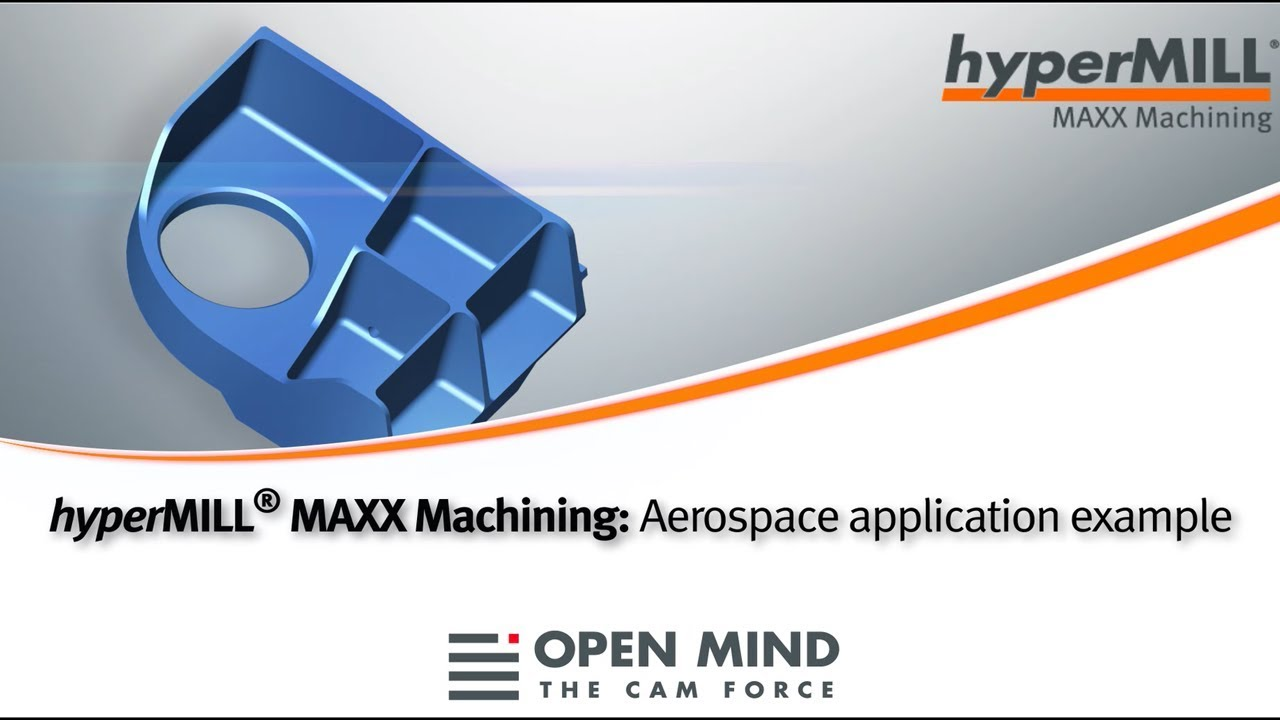 hyperMILL MAXX Machining: Aerospace application example | Hermle | CAM-Software |