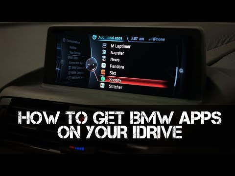 How to Code and Retrofit BMW Apps to your iDrive system