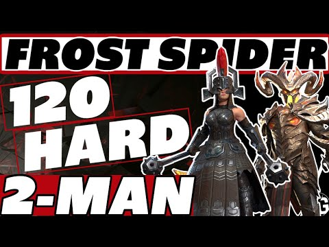 2man the BOSS HARD 120 | Anyone can do it! Raid Shadow Legends Sorath frost spider guide