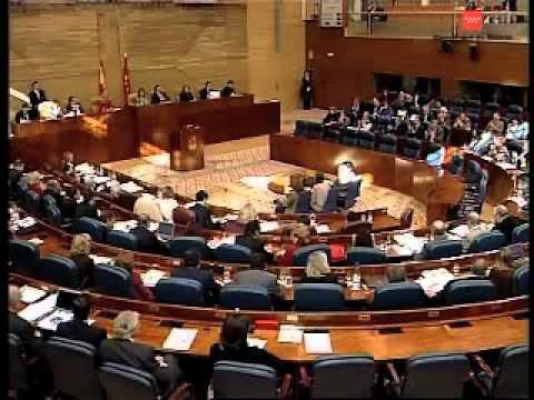 Esperanza Aguirre refuta la argumentación Socialis...