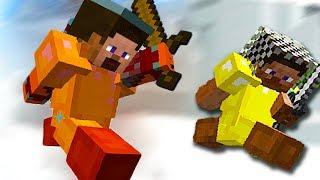 Minecraft Hunger Games - Crazy Jungle Battle - (Minecraft Gameplay)