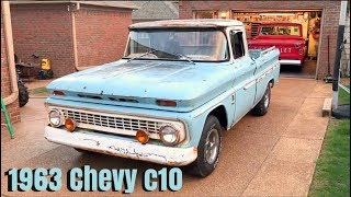 1963 Chevy c10 new project