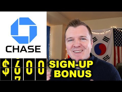 $600 Chase Bank Checking & Savings Sign Up Bonus