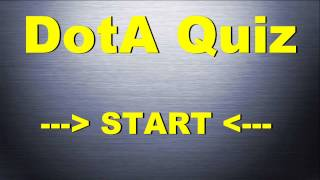 DotA Quiz - How much do you know about DotA?
