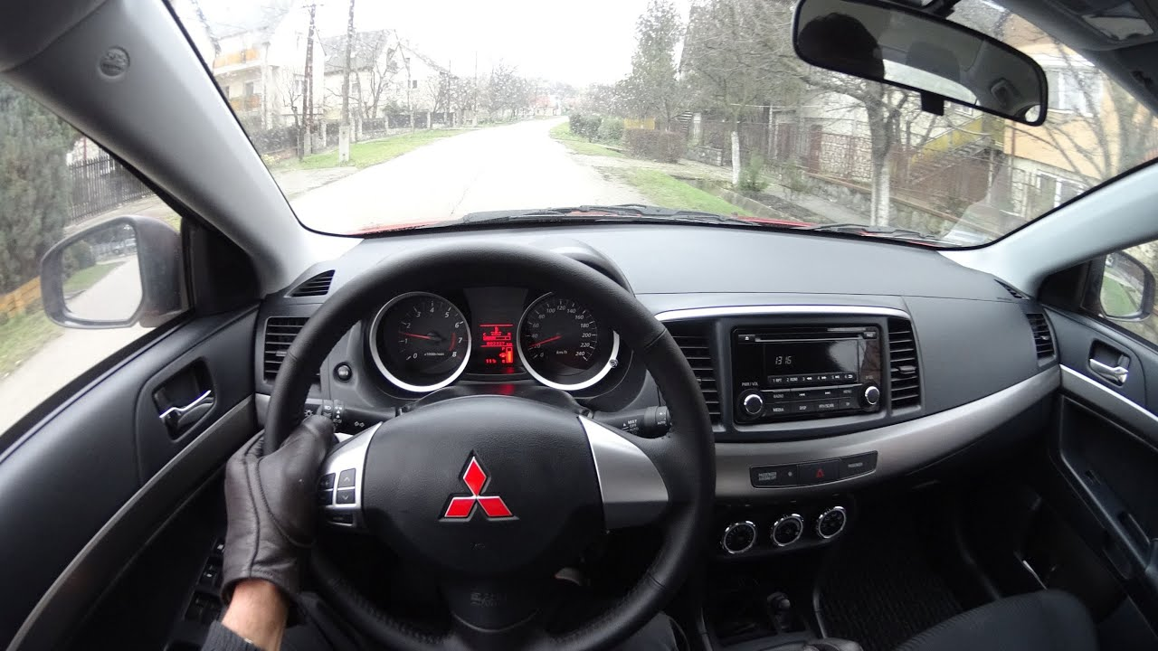 Mitsubishi Lancer 1.6 117PS 6000rpm - YouTube