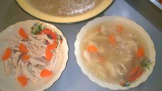 Холодец /Мой Рецепт холодца из свинины и курятины.