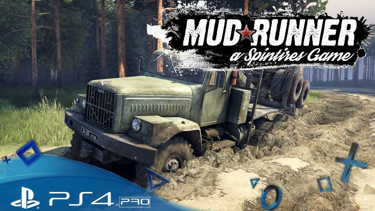 spintires mudrunner ps4 total festgefahren let s. Black Bedroom Furniture Sets. Home Design Ideas