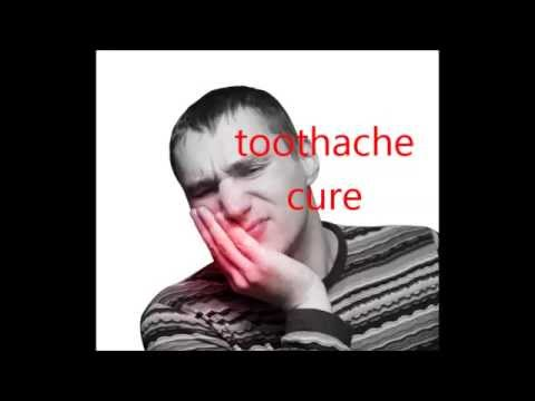 toothache, definitive cure in English