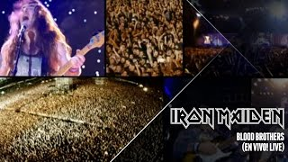 Iron Maiden Blood Brothers En Vivo Live In Santiago