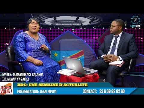 Suite - Maman Grace Kalanga (ex.Muana ya Zaïre) Révelation sur la délivrance du Congo démocratique