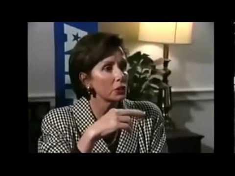 LIBERAL COWARDICE: Hypocrite Nancy Pelosi Flees Interview