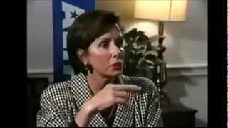Repeat youtube video LIBERAL COWARDICE: Hypocrite Nancy Pelosi Flees Interview