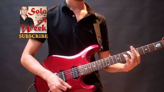 Danger Zone Guitar Solo / Lesson / Axe-Fx II Rig Talk - SoloAWeek 19 - Solo a Week 19