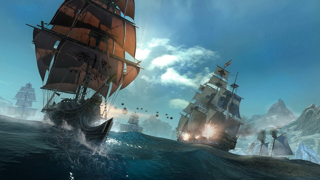 Assassin S Creed Rogue 2 Naval Combat Youtube