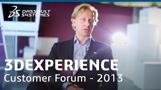 3DEXPERIENCE Customer FORUM in Gothenburg 2013
