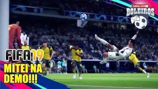 FIFA19 | TESTANDO A DEMO AO VIVO!! TEVE MITADA!!
