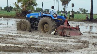New Holland 4710 Tractor- Best Suited for Puddling Application