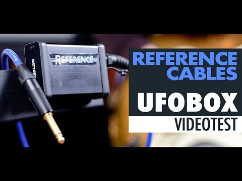 Reference Cables UFOBOX | Video Test | SUB ENG