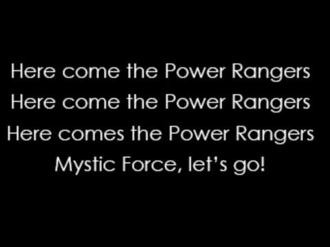 Chaka Blackmon - Power Rangers Mystic Force Theme Song (Lyrics)