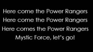 Chaka Blackmon - Power Rangers Mystic Force Theme Song (Lyrics)