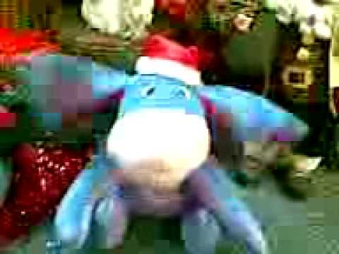 eeyore merry christmas youtube