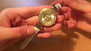 Обзор часов versace v-signatyre gold