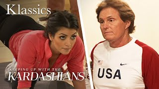 "Bruce Jenner Trains Kim Kardashian for ""Playboy"" Photoshoot 