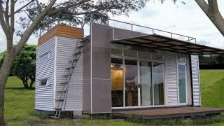 Casa Cúbica's 160 Sq. Ft. Shipping Container Tiny Home